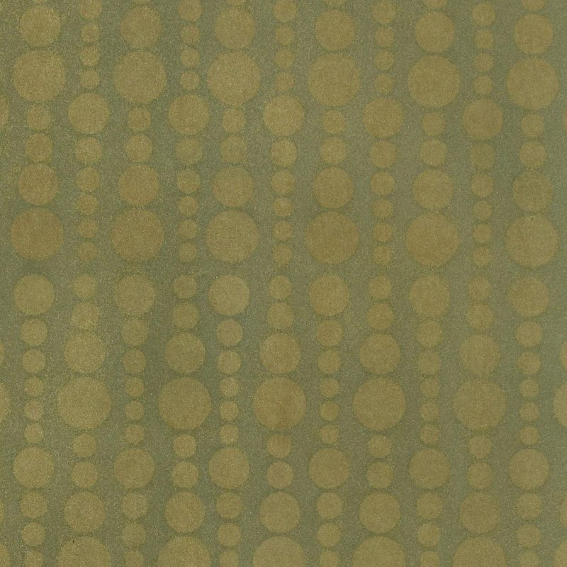 Tiny Bubbles Sea Green Gold