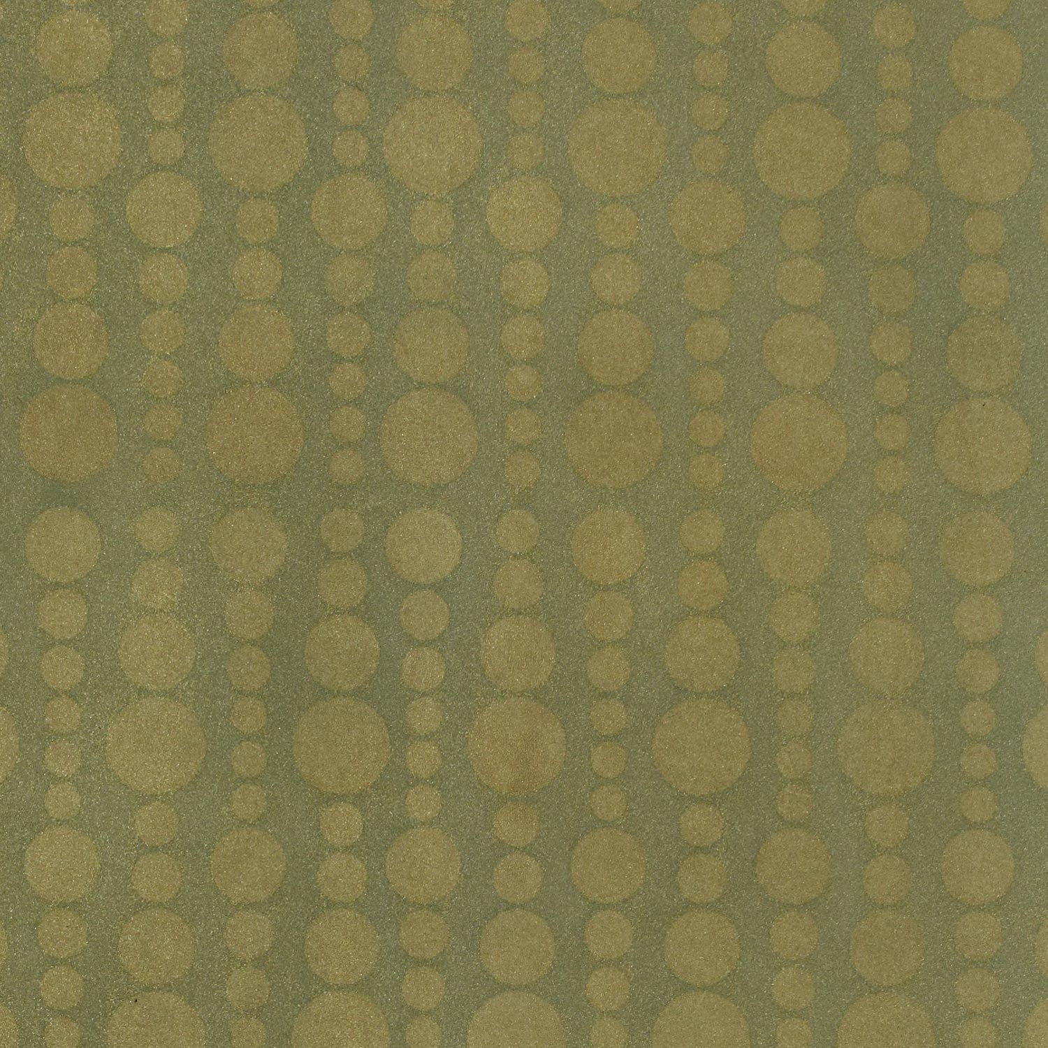 Tiny Bubbles Sea Green Gold