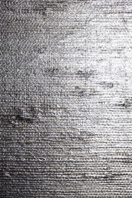 Grasscloth Silver