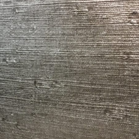 grass cloth pewter metallic sample