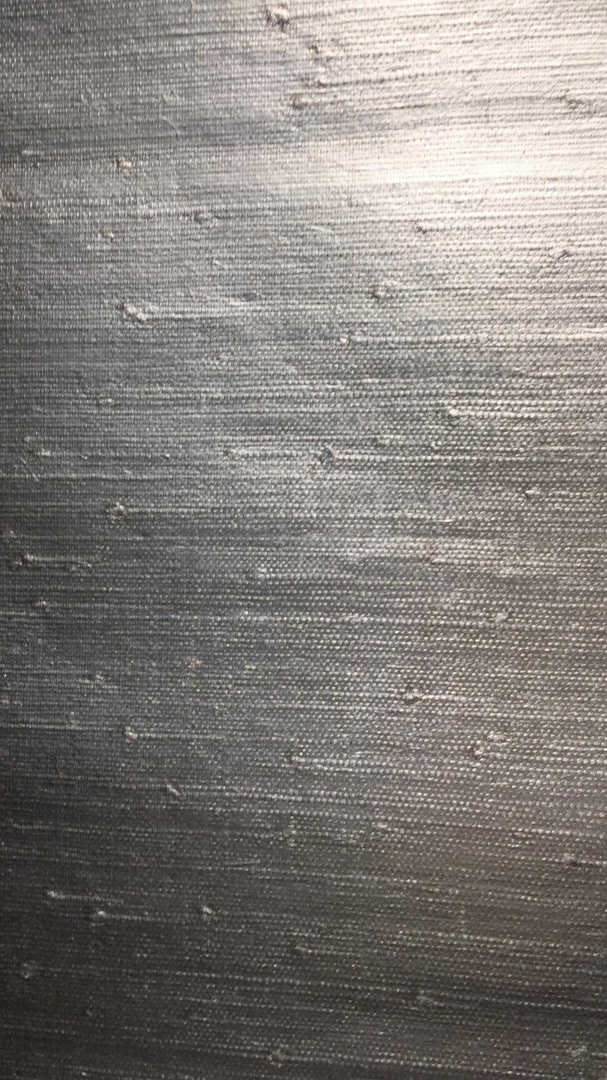 Grass Cloth Silver Metallic
